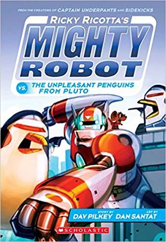 Ricky Ricotta's Mighty Robot vs....