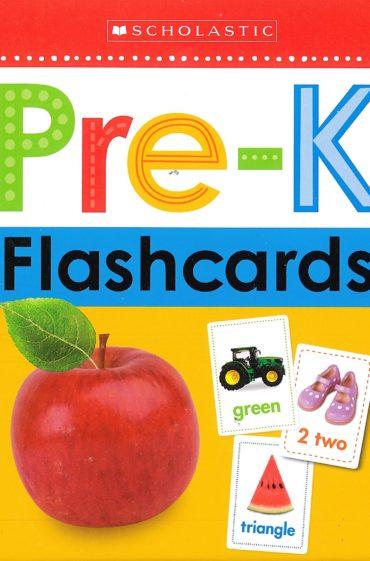 Pre K Flash Cards