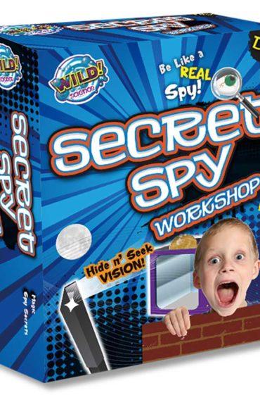 Secret Spy Workshop