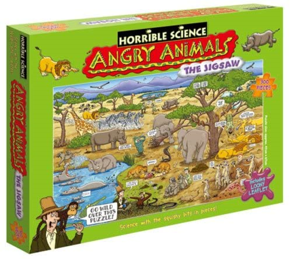 Horrible Science Puzzle, Angry Animals
