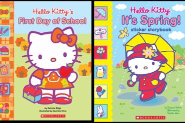 Hello Kitty sticker story book...