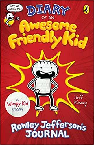 Diary Awesome Friendly Kid Rowley...